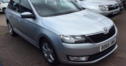 2015 SKODA Rapid Spaceback 1.4 TDI SE Tech Spaceback 5dr (start/stop) Silver