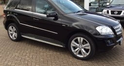 2010 Mercedes-Benz ML300 Sport 3.0 CDi Blueefficiency Auto