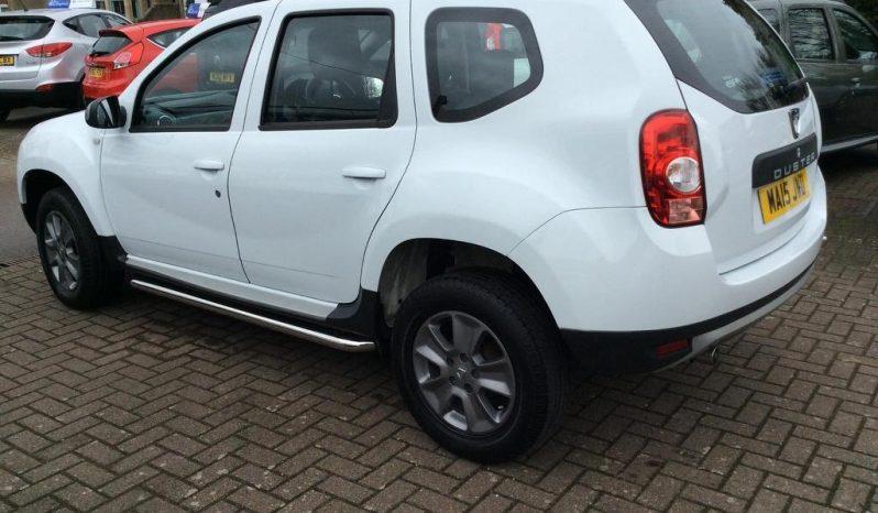 2015 Dacia Duster 1.5 dCi Laureate 5dr White full